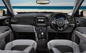red jeep compass interior jeep compass launched in india at rs 14 95 lakh variants explained