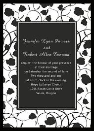 wedding invitations black and white shop black and white wedding invitations online