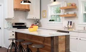 fabriquer un ilot de cuisine creer ilot de cuisine cuisine method avec lot central with