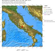 Italy Earthquake Map by Magnitude 4 9 Earthquake In Italy Yesterday Europe Geology