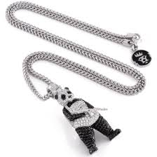necklace man images Officially licensed white gold panda man necklace from suicide jpg