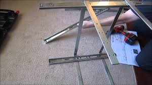 diy project installing kitchen cabinets rev a shelf youtube