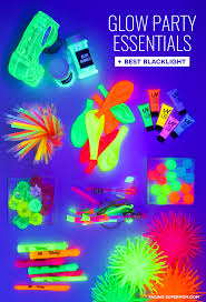 glow in the party supplies glow party ideas ultimate guide how to throw a black light party