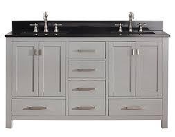 Bathroom Vanities 60 by Avanity Modero Double 60 Inch Transitional Bathroom Vanity