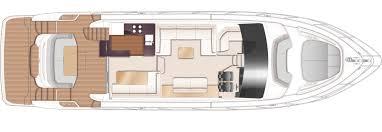 Luxury Yacht Floor Plans by Princess 62 Flybridge Yacht Princess Motor Yacht Sales