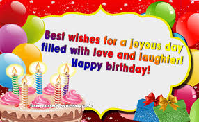 send a birthday card birthday cards best wishes for a joyous day