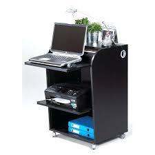 bureau informatique noir bureau informatique noir petit bureau informatique unique petit