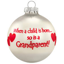 grandparents ornament family special