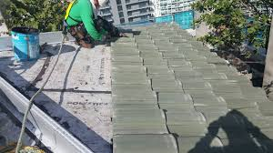 Entegra Roof Tile Jobs by Brickell City Center New Commercial Roofs Evans Roofing