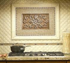 backsplash medallions kitchen backsplash medallions size of kitchen black granite gold modern