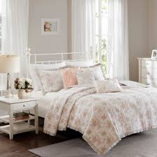 bedding madison park serendipity coverlet set in coral bedspreads