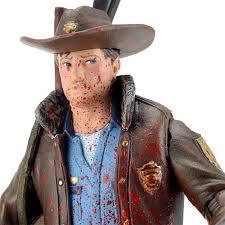 Rick Walking Dead Halloween Costume Amazon Mcfarlane Toys Walking Dead Comic Series 1