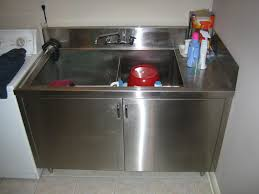 Laundry Utility Sink With Cabinet by Stainless Steel Laundry Sink Home Design By Fuller