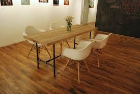 reclaimed wood dining table panel beautiful reclaimed wood