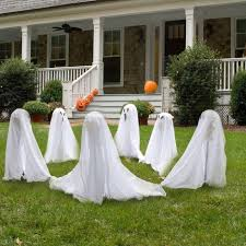 garden comely halloween garden yard landscaping decoration using