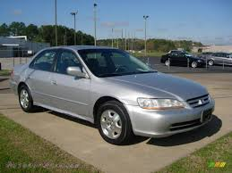 2002 silver honda accord 2002 honda accord ex v6 sedan in satin silver metallic 078800
