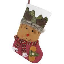 haochu stockings christmas gift sweets bag sock ornaments favors