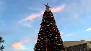 Universal Studios Christmas Ornaments - santa claus lights universal studios florida u0027s christmas tree in