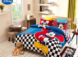 Mickey Mouse Bed Sets King Size Mickey Mouse Bedding Nurani Org