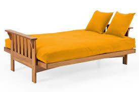 Yellow Sofa Bed Futon Cover Canary Yellow Micro Fiber The Futon Shop