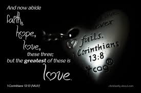 mla citation heart of darkness faith hope and love bible verse 1 corinthians 13 13