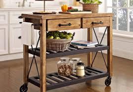 metal kitchen islands captivating design metal kitchen cart cute round rustic kitchen