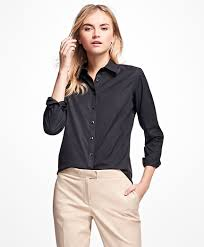 women u0027s blouses tunics tops and shirts brooks brothers