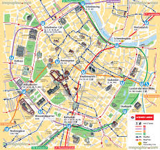 Queens College Map Vienna Map Ubahn Underground Subway Metro Stations Tram Stops