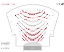 theatre floor plan seating plan sydney lyric theatre