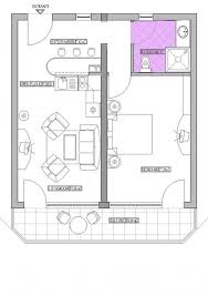 Studio Apartment Floor Plans Home Design One Room Studio Apartment Floor Plan Design Ideas