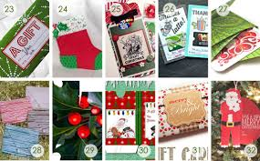 over 50 printable gift card holders for the holidays gcg