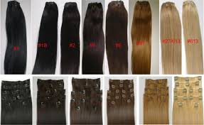 Synthetic Vs Human Hair Extensions by Reviews 18 U2033 Clip In Human Hair Extensions 10pcs 100g Color 2