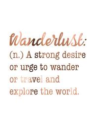 travel definition images Wanderlust quote travel print copper wanderlust poster a jpg