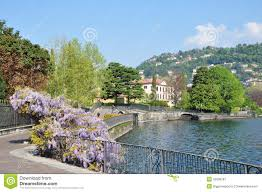 Lake Cuomo Italy Map by City Centre Lake Como Italy Royalty Free Stock Photography Image