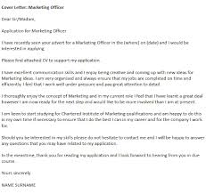 marketing cover letter sample how to write a cover letter for liaison officer specialized