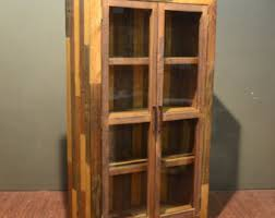 Solid Wood Bookcase Rustic Bookcase Etsy