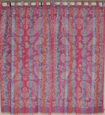 navy ikat curtains moroccan and window treatments coral drapes