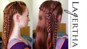 lagertha lothbrok hair braided vikings hair tutorial for lagertha season 2 youtube