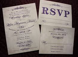 vintage style wedding invitations purple antique poster style vintage steunk wedding