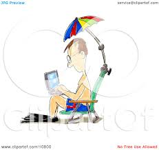 Clip On Umbrellas For Beach Chairs Royalty Free Rf Clipart Illustration Of A Shell On The Beach