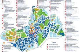 La City Map La Coruna Map