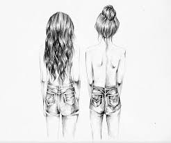 40 best hair sketches images on pinterest hair sketch drawings