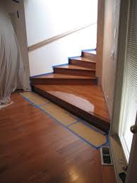 Hardwood Flooring Sealer Stair Refinishing Semiahmoo Blaine Wa Hoffmann Hardwood Floors