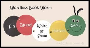 wordless book abc jesus loves me