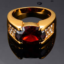 aliexpress buy gents rings new design yellow gold men s ruby jewelry 14kt yellow gold filled wedding engagement