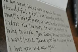 Thank You Letter Notes Samples anatomy of a thank you note pearls on a string