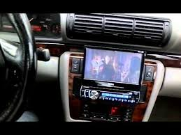 1998 audi a4 bose system with aftermarket radio dvd youtube