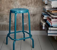 blue bar stools kitchen furniture blue counter height chairs high blue metal counter height stool