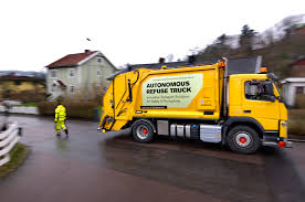 volvo commercial truck dealer near me volvo introduces autonomous garbage truck motor trend
