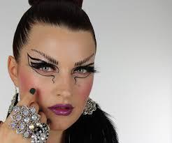 creative eyeliner pixie queen make up tutorial youtube